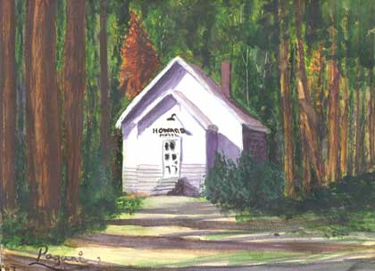 Oregon Series: Old Schoolhouse - Prinveville, OR